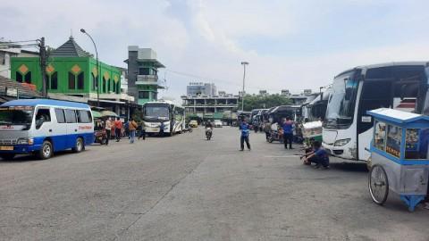 2.020 Pemudik Berangkat dari Terminal Poris Tangerang