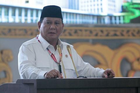 Prabowo Subianto Irit Bicara Soal Capres 2024