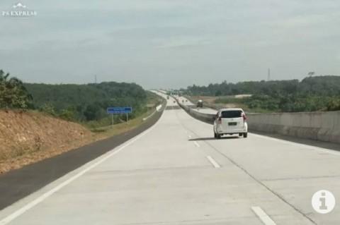 Jelang Larangan Mudik, Tol Lampung Mulai Ramai Kendaraan