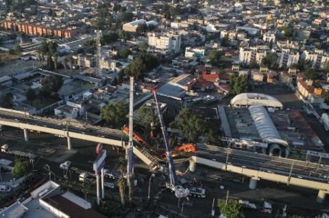 Presiden Meksiko Janjikan Penyelidikan Menyeluruh Robohnya Jembatan Kereta