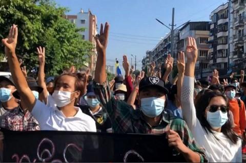 Myanmar Berpotensi Dilanda Gelombang Ketiga Covid-19