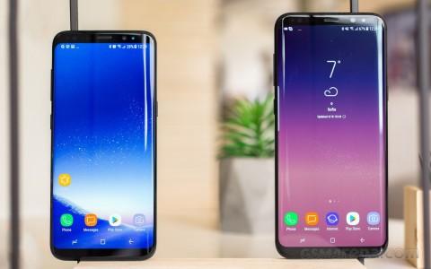 Samsung Setop Update Galaxy S8 Series