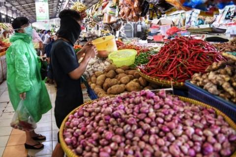 Harga Pangan di Tangerang Stabil Jelang Lebaran