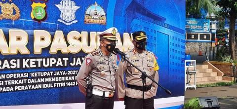 Polisi Mulai Jaga Pos Pengamanan Pukul 24.00 WIB