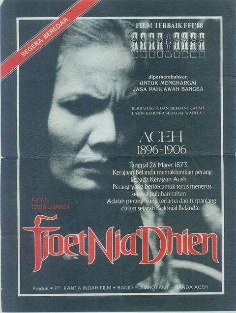 Film Tjoet Nja' Dhien Tahun 1988 Tayang Lagi di Bioskop
