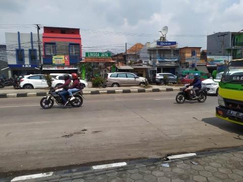 Pemudik Sepeda Motor Mulai Melitasi Jalur Selatan Bandung