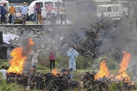 India Catat 3.780 Kematian akibat Covid-19 dalam Satu Hari