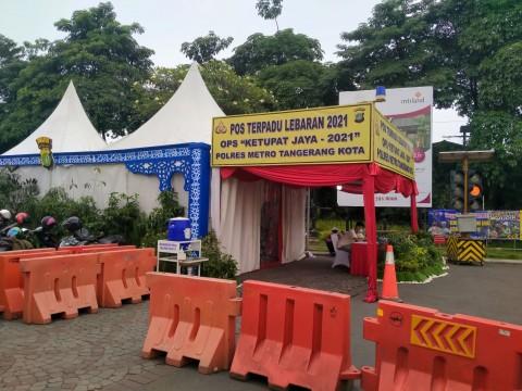Antisipasi Pemudik, Kota Tangerang Dirikan 2 Pos Cek Poin dan Posko Penyekatan