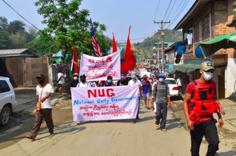 Di Ambang Perang Saudara, Oposisi Myanmar Bentuk Pasukan Lawan Junta