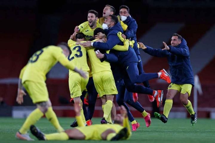 Arsenal Vs Villarreal: Kapal Selam Kuning Depak The Gunners dari Liga Europa