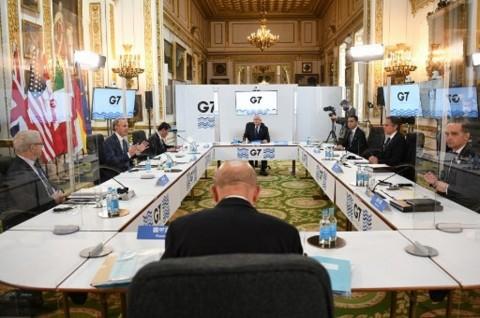 Ketua ASEAN-Menlu Inggris Bahas Situasi Myanmar pada Pertemuan G7