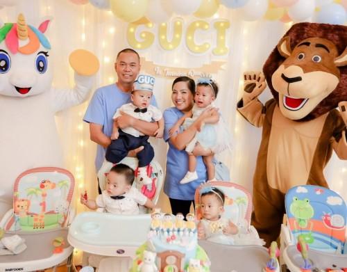 Baby GUCI dan orangtuanya (Foto: dok. pribadi)