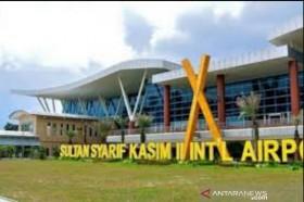 Bandara Sultan Syarif Kasim II Hanya Layani 1 Penerbangan