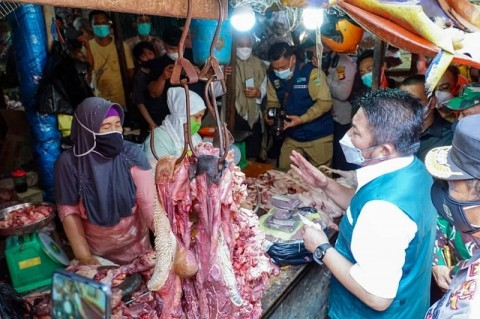 Permintaan Daging Sapi di Palembang Alami Kenaikan