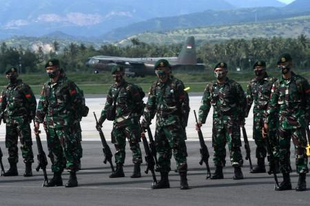 Pelabelan KKB Momentum Pengesahan Perpres TNI Tangani Terorisme