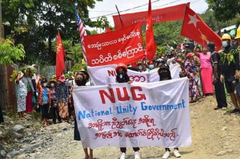 Junta Myanmar Labeli Pemerintah Oposisi sebagai Grup Teroris