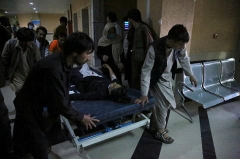 Korban Tewas Bom di Sekolah Afghanistan Jadi 58 Orang