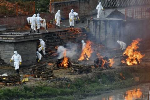 Studi: Kematian Covid-19 di India Sentuh 1 Juta Agustus Ini