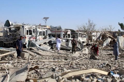 Setelah Bom di Sekolah, Ledakan Bus Afghanistan Tewaskan 11 Orang