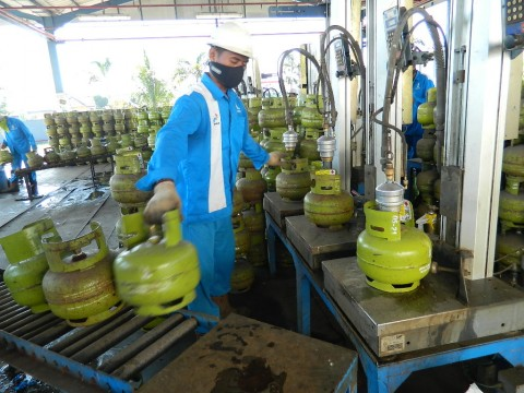 Hadapi Idulfitri, Pertamina Tambah Stok LPG 3 Kg di Sulawesi