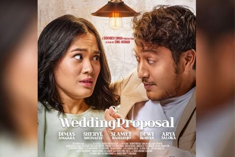 Beda Kepribadian, Dimas Anggara dan Sheryl Sheinafia Bersatu dalam Wedding Proposal