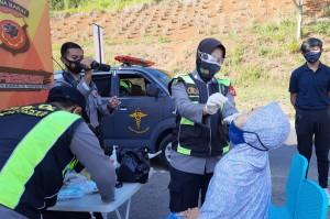 Polres Tasikmalaya Sediakan Swab Antigen Bagi Pemudik Perjalanan Khusus