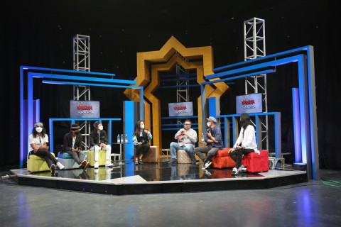 Rayakan Lebaran Bersama Slank di Vaksin Untuk Indonesia Episode 7