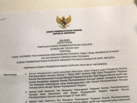 75 Pegawai KPK Gagal TWK Dinonaktifkan, Novel Nilai Firli Sewenang-Wenang