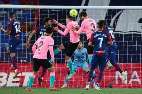 Levante vs Barcelona: Blaugrana Buang Kesempatan ke Puncak Klasemen