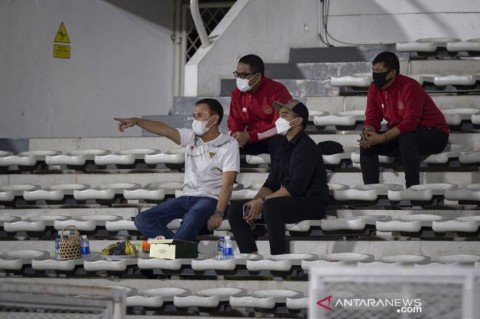 Kaesang Pantau TC Timnas di Jakarta, Persis Mau Rekrut Pemain Anyar?