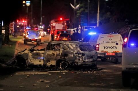 Roket Hamas Masih Hantam Israel, Targetkan Wilayah Tel Aviv