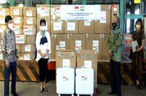 Indonesia Kirim Bantuan 200 Unit Oksigen Konsentrator ke India