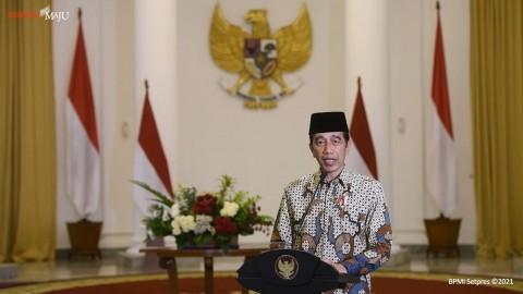 Jokowi Dijadwalkan Salat Idulfitri di Istana Bogor