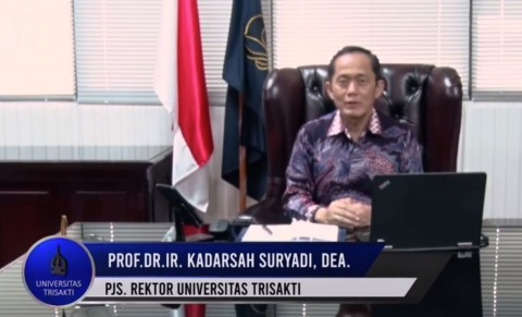 Rektor Trisakti Ajak Petik Hikmah Ramadan di Tengah Pandemi
