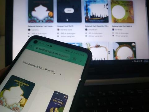 Bikin Ucapan Lebaran dengan Twibbon, Berikut 10 Link Download dan Caranya