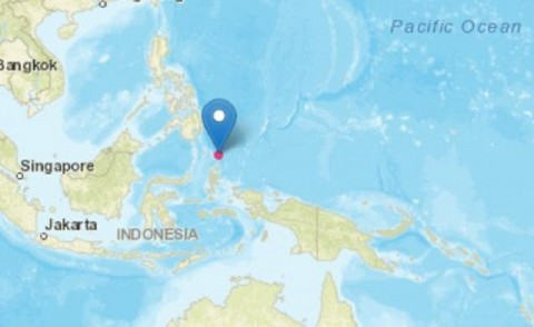 Daruba Morotai Diguncang Gempa 5 Magnitudo