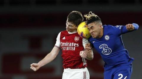 Chelsea vs Arsenal: The Gunners Bungkam The Blues