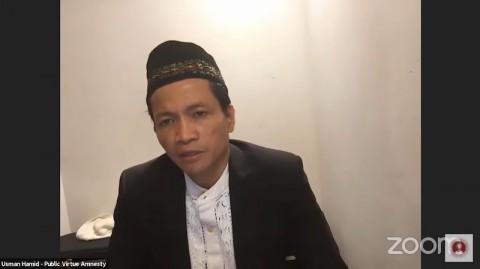 Khotbah Salat Idulfitri, Usman Hamid Selipkan Pesan Soal Tes TWK