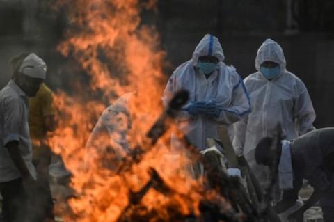India Laporkan 4.120 Kematian Akibat Covid-19 dalam Sehari