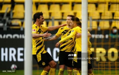 Hancurkan Leipzig, Dortmund Juara DFB Pokal