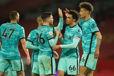 MU vs Liverpool: The Reds Akhiri Catatan Minor di Old Trafford