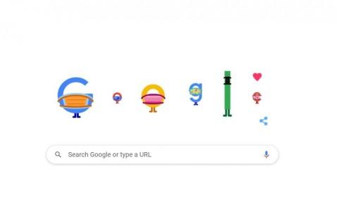 Google Masih Ingatkan Pentingnya Kenakan Masker via Doodle