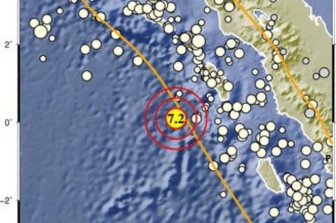 Gempa di Nias Barat Bikin Kursi Bergetar Kuat di Gunungsitoli