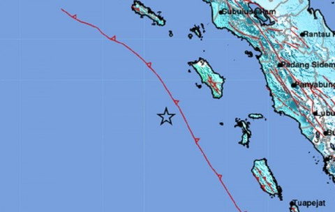 Wilayah Sumbar dan Sumut Rasakan Guncangan Gempa Nias