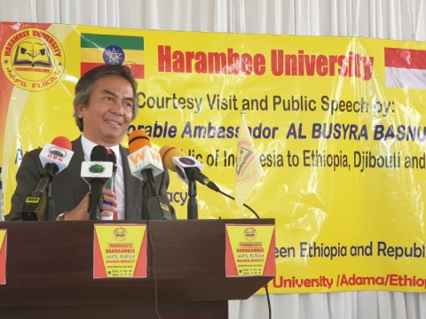 Diplomasi Publik Indonesia Berkembang Pesat di Ethiopia
