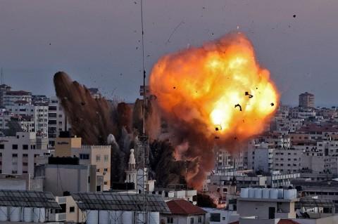Israel Terus Bombardir Gaza, 126 Warga Palestina Tewas