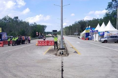 Jalan Tol Trans Sumatra Sepi