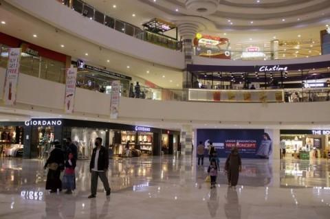Libur Lebaran, Tingkat Kunjungan ke Pusat Perbelanjaan Turun