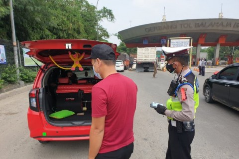 16.016 Kendaraan Diputar Arah di Tangerang