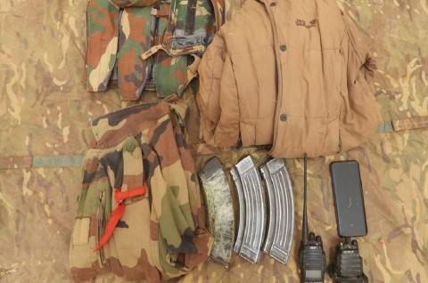 Pasukan Inggris Sita Persenjataan ISIS dalam Operasi Mali